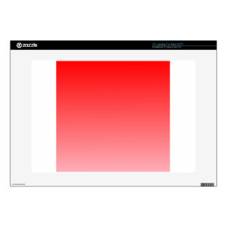 """Red to Pink Horizontal Gradient Decal For 15"""" Laptop"""