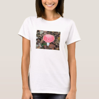 Red Toadstool fungus T-Shirt