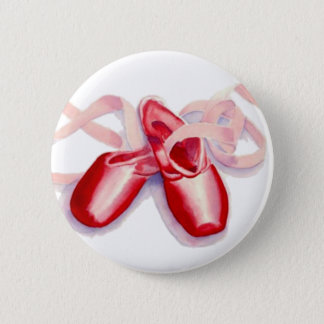 Red Toeshoes Button