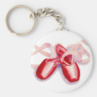 "Red ""Toeshoes Keychain"