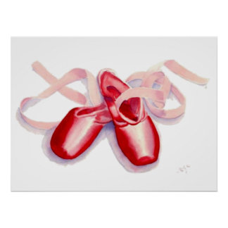 Red Toeshoes Print
