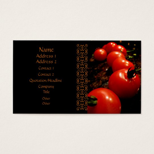 Red Tomato Business Card