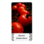 Red Tomato Canning Labels