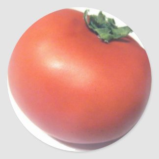 Red Tomato Classic Round Sticker