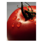 RED TOMATO FRESH FRUITS VEGETABLES HEALTHY YUMMY POST CARDS