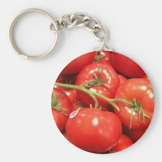 Red Tomato Keychain