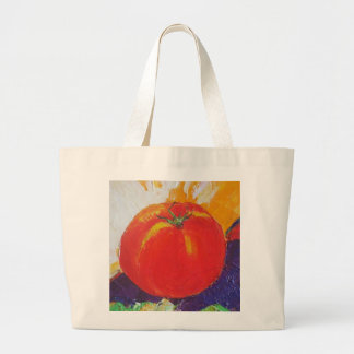 Red Tomato Large Tote Bag