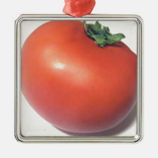 Red Tomato Metal Ornament