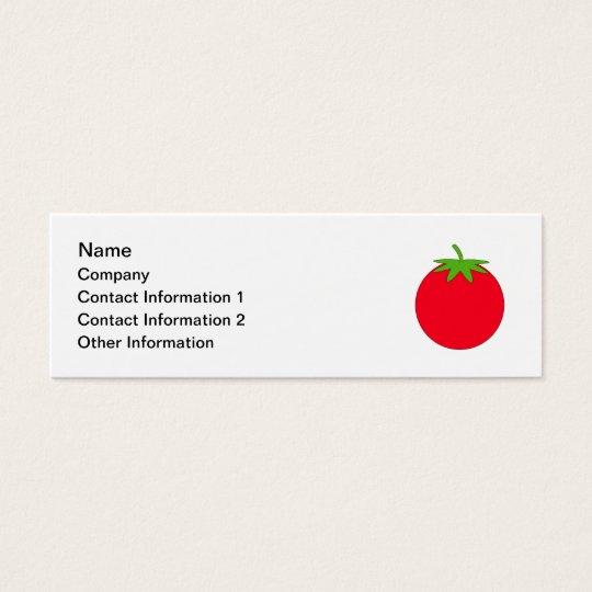 Red Tomato. Mini Business Card