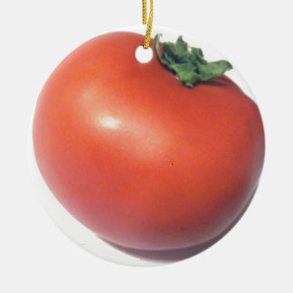 Red Tomato Christmas Ornament