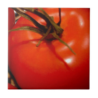 Red Tomato ripe and ready to eat, delicious Small Square Tile