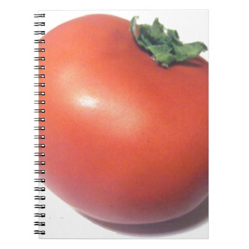 Red Tomato Spiral Note Book