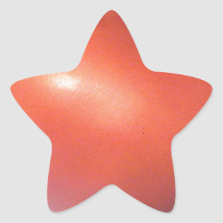 Red Tomato Star Sticker