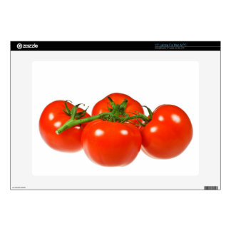 "Red tomatoes 15"" laptop skin"
