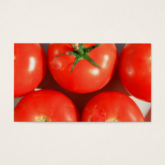 Red Tomatoes business cards
