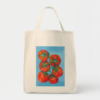 Red Tomatoes Grocery Bag