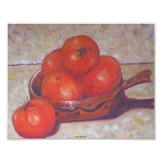 Red Tomatoes in a Dish Fine Art Print Art Photo