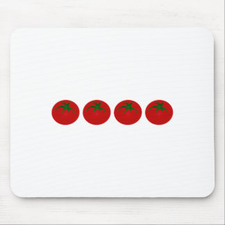 Red Tomatoes Logo Mouse Pad