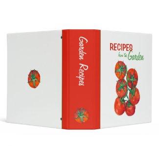 Red Tomatoes Recipe Binder binder