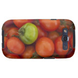 red tomatoes with one green one for sale at the samsung galaxy s3 covers