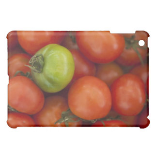 red tomatoes with one green one for sale at the iPad mini cover