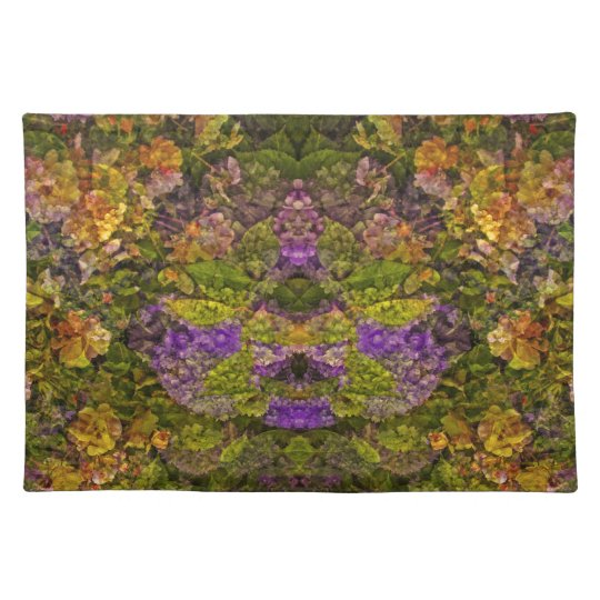 Red Tones Floral Dream American MoJo Placemats