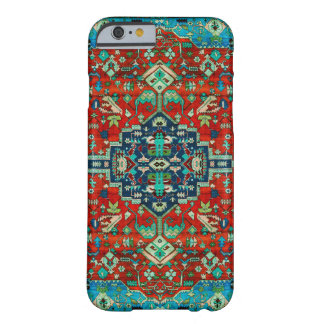 Red Tones Persian Carpet Motive Barely There iPhone 6 Case