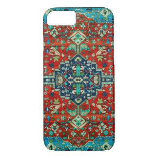 Red Tones Persian Carpet Motive iPhone 8/7 Case