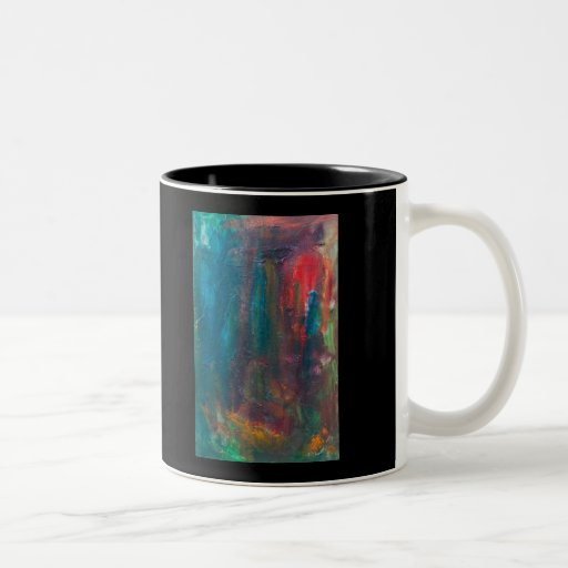 Red Tongue of the Tiger Sun Coffee Mugs