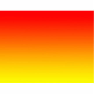 red top yellow bottom gradient DIY custom image Cut Outs