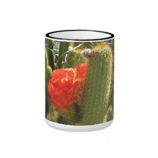 Red Torch Cactus Ringer Mug