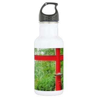 Red Torii Gate Water Bottle