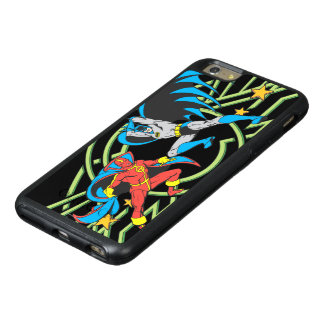 Red Tornado + Batman OtterBox iPhone 6/6s Plus Case