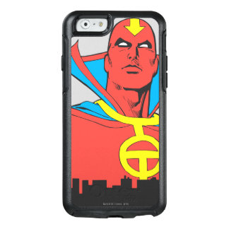 Red Tornado Behind Cityscape OtterBox iPhone 6/6s Case