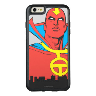 Red Tornado Behind Cityscape OtterBox iPhone 6/6s Plus Case