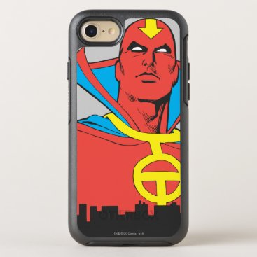 Red Tornado Behind Cityscape OtterBox Symmetry iPhone 8/7 Case