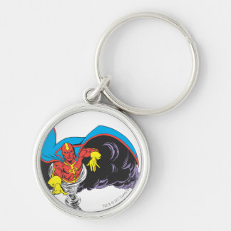 Red Tornado Emerges Keychain