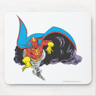 Red Tornado Emerges Mouse Pad