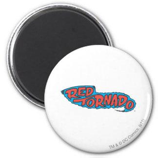 Red Tornado Logo 2 Inch Round Magnet