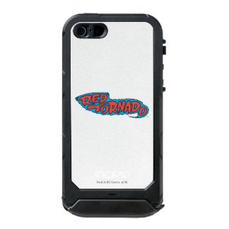 Red Tornado Logo Waterproof iPhone SE/5/5s Case