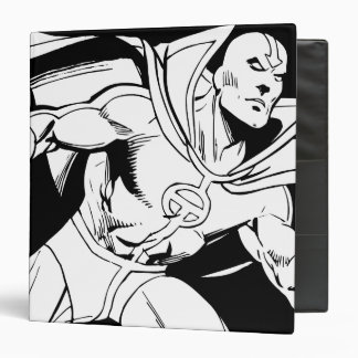 Red Tornado Outline 3 Ring Binder