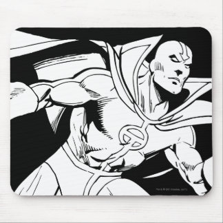 Red Tornado Outline Mouse Pad