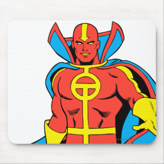 Red Tornado Pose Mouse Pads