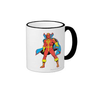 Red Tornado Pose Mug