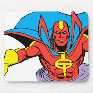 Red Tornado Twister Mouse Pad