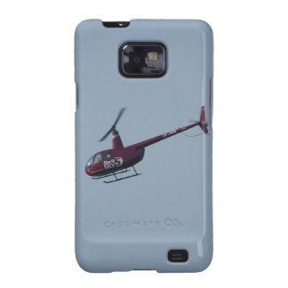 Red tourist helicopter galaxy SII covers