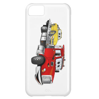 Red Tow Truck Flatbed Cartoon iPhone 5C Covers