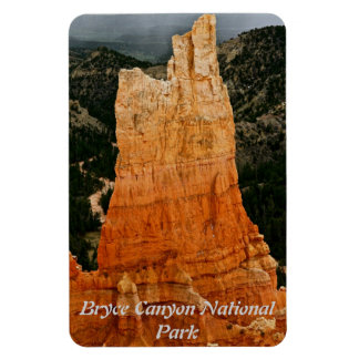 RED TOWER IN BRYCE NATIONAL PARK RECTANGULAR PHOTO MAGNET
