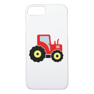 Red toy tractor iPhone 8/7 case