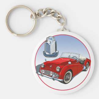 Red TR3 Keychains